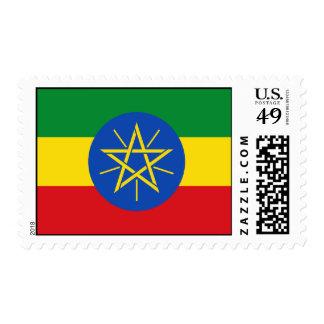 Ethiopia Flag Stamp