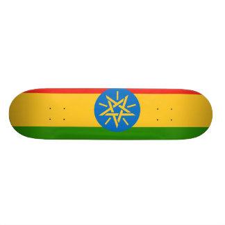 Ethiopia Flag Skateboard