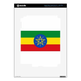 Ethiopia Flag Skins For iPad 3