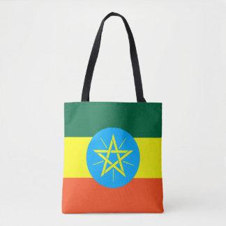 Ethiopia Flag Tote Bag