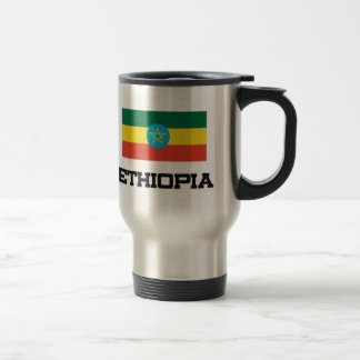Ethiopia Flag Travel Mug