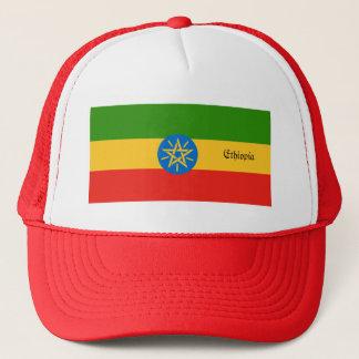 Ethiopia Flag Trucker Hat
