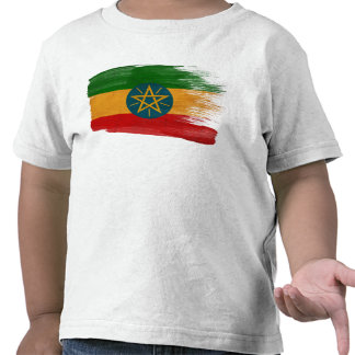 Ethiopia Flag T-shirts