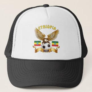 Ethiopia Football Designs Trucker Hat