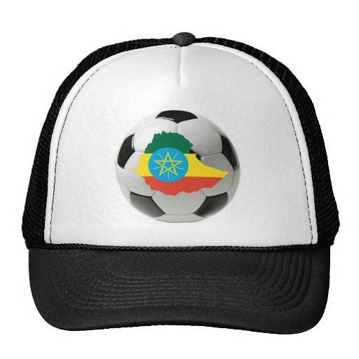 Ethiopia football soccer trucker hat