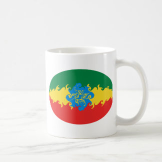 Ethiopia Gnarly Flag Mug