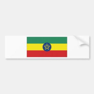 Ethiopia National Flag Bumper Sticker