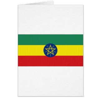 Ethiopia National Flag Cards
