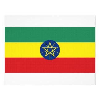 Ethiopia National Flag Custom Announcements