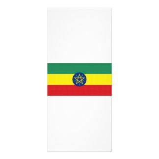 Ethiopia National Flag Full Color Rack Card
