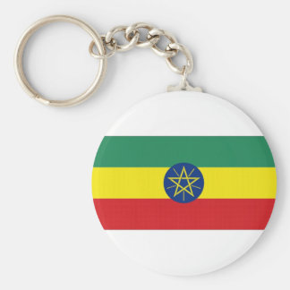 Ethiopia National Flag Key Chains