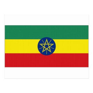 Ethiopia National Flag Postcard