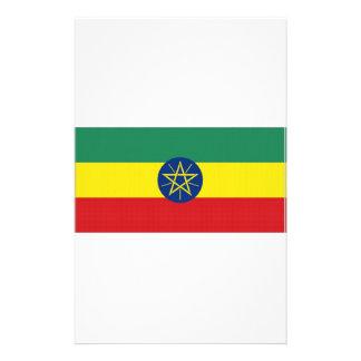 Ethiopia National Flag Stationery