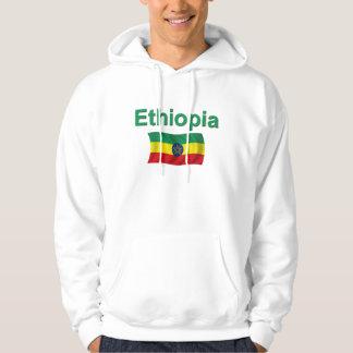 Ethiopia National Flag (w/inscription) Hoodie