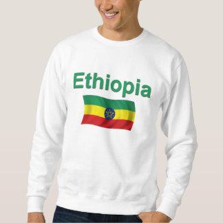 Ethiopia National Flag (w/inscription) Pullover Sweatshirt