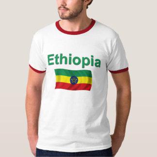 Ethiopia National Flag (w/inscription) T-Shirt
