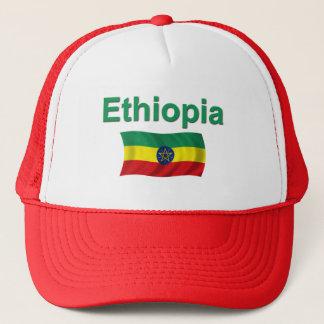 Ethiopia National Flag (w/inscription) Trucker Hat