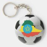 Ethiopia national team key chain