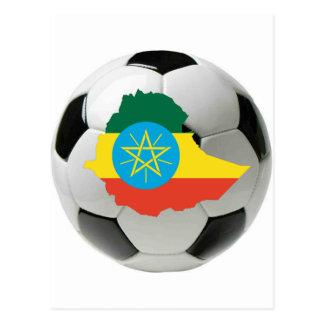 Ethiopia national team post cards