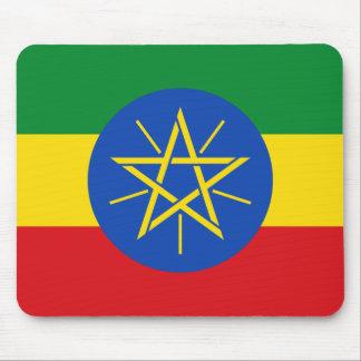 Ethiopia National World Flag Mouse Pad