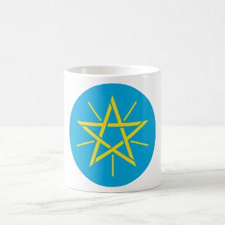 Ethiopia Official Coat Of Arms Heraldry Symbol Classic White Coffee Mug