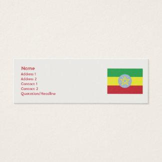 Ethiopia - Skinny Mini Business Card