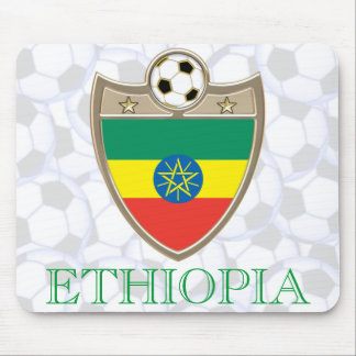 Ethiopia Soccer Mouse Pad