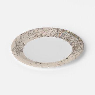 Ethiopia, Somalia, Africa Paper Plate