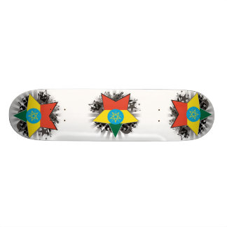 Ethiopia Star Skate Board Decks