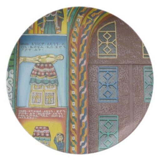 Ethiopia:  Tigray Region, Axum, Christ Church, Party Plates