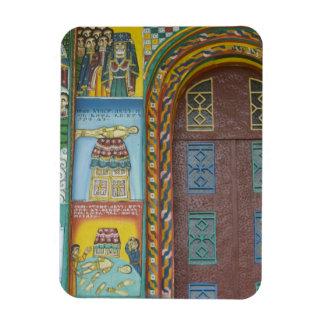 Ethiopia:  Tigray Region, Axum, Christ Church, Rectangular Photo Magnet