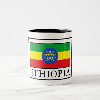 Ethiopia Two-Tone Coffee Mug
