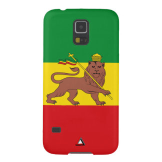 "Ethiopia Vintage Flag ""Lion of Judah"" Case For Galaxy S5"