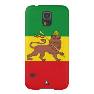 "Ethiopia Vintage Flag ""Lion of Judah"" Galaxy S5 Cover"