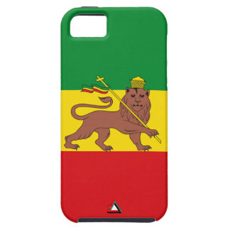 "Ethiopia Vintage Flag ""Lion of Judah"" iPhone SE/5/5s Case"
