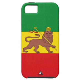 "Ethiopia Vintage Flag ""Lion of Judah"" iPhone SE/5/5s Case"
