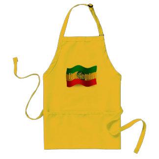 Ethiopia Waving Flag Apron