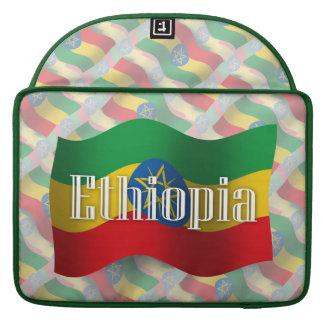 Ethiopia Waving Flag MacBook Pro Sleeve