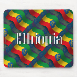 Ethiopia Waving Flag Mouse Pad