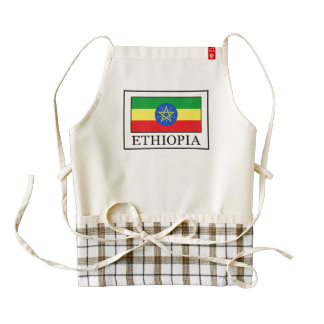 Ethiopia Zazzle HEART Apron