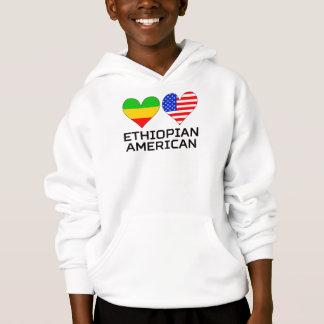 Ethiopian American Hearts Hoodie