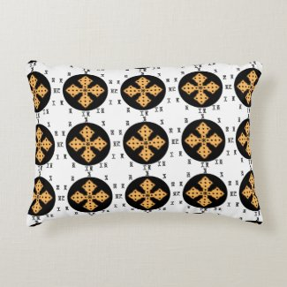 Ethiopian Bible Cross Pillow