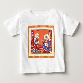Ethiopian-Bible-Saint-Luke-Saint-John Baby T-Shirt