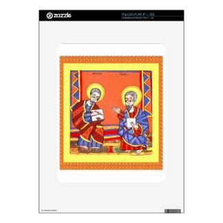 Ethiopian-Bible-Saint-Luke-Saint-John iPad Skin