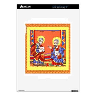 Ethiopian-Bible-Saint-Luke-Saint-John Skins For The iPad 2