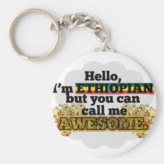 Ethiopian, but call me Awesome Keychain