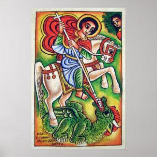 Ethiopian Church Painting - Kidus Gabriel Canvas Poster