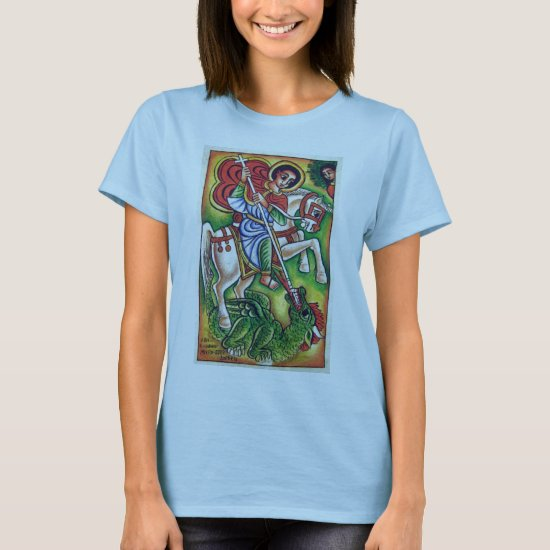 Ethiopian Church Painting - Kidus Gebreal Gabriel T-Shirt