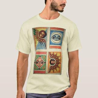 Ethiopian Church Painting - Natural T-Shirt