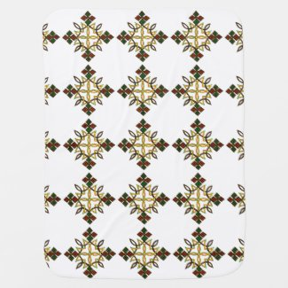Ethiopian Cross Blanket